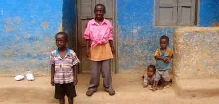 'Die Kinder von Jinka' (Jinka, Äthiopien).